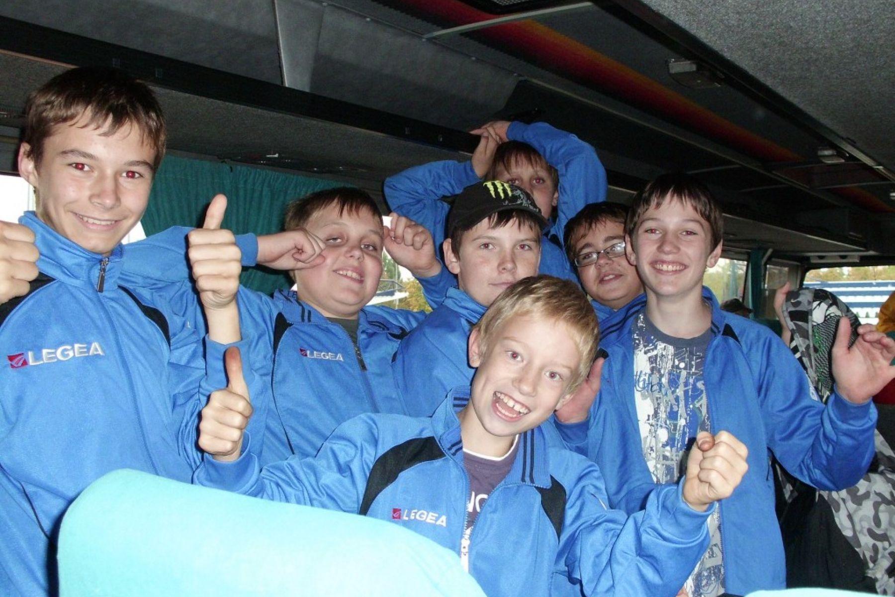 Zástupci Děčína na krajské olympiádě mládeže v Chomutově