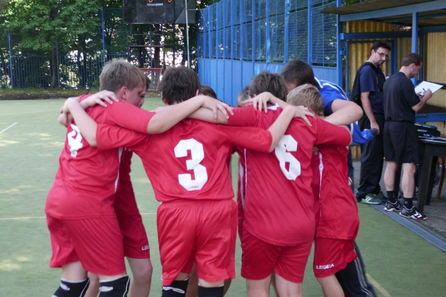 Mladší žáci na turnaji v Lounech