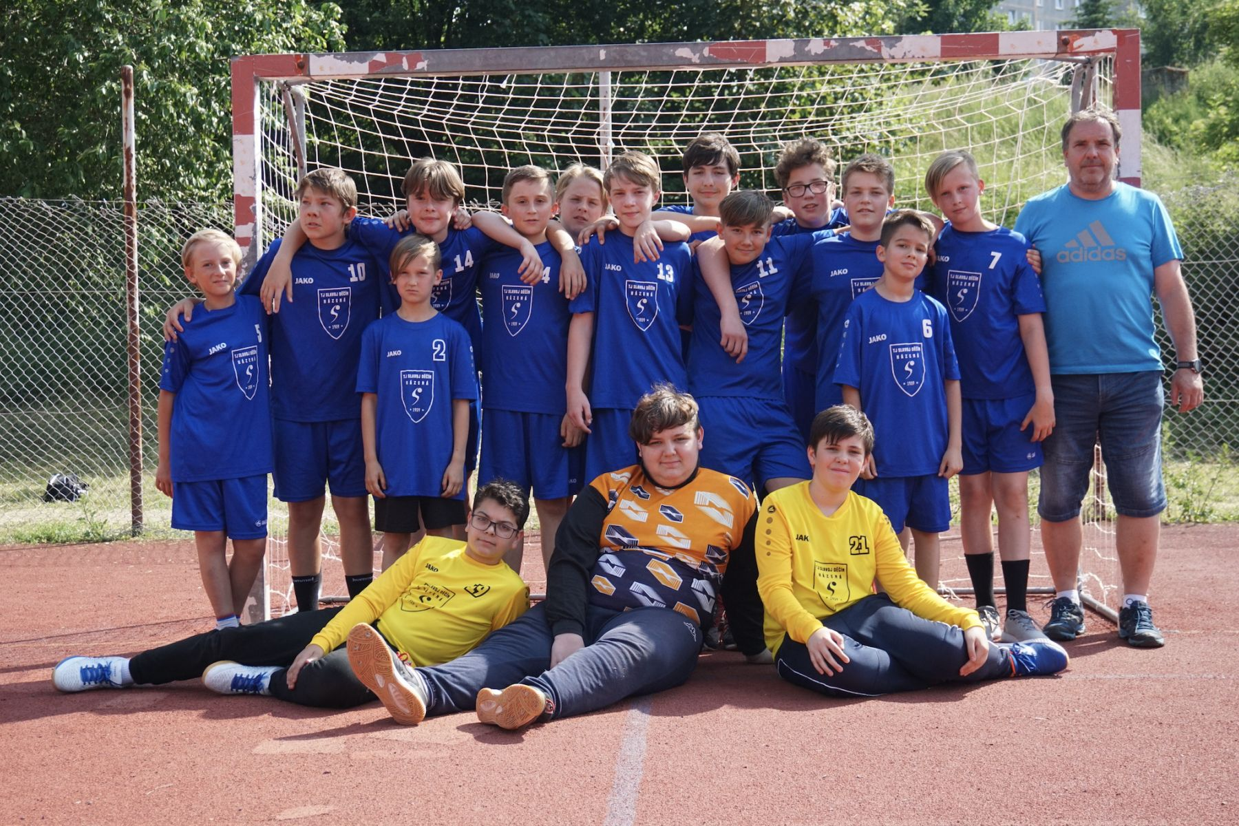 Šesté místo mladších žáků na turnaji v Liberci
